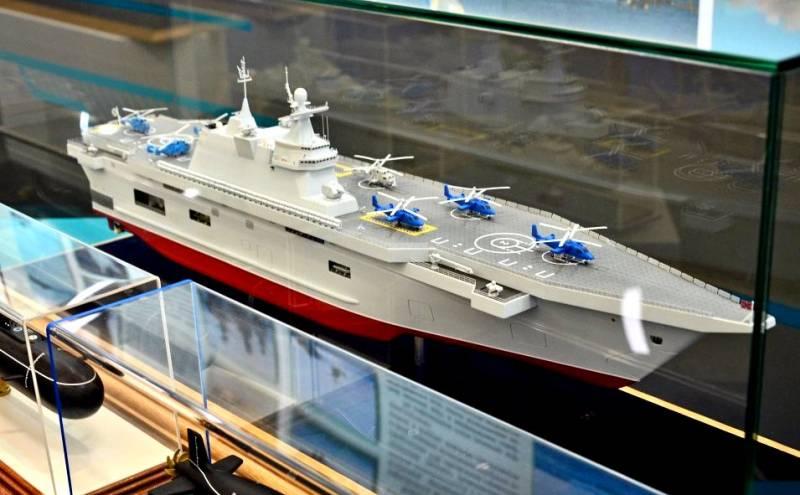 Универсальный десантный корабль проекта «Прибой». Инфографика