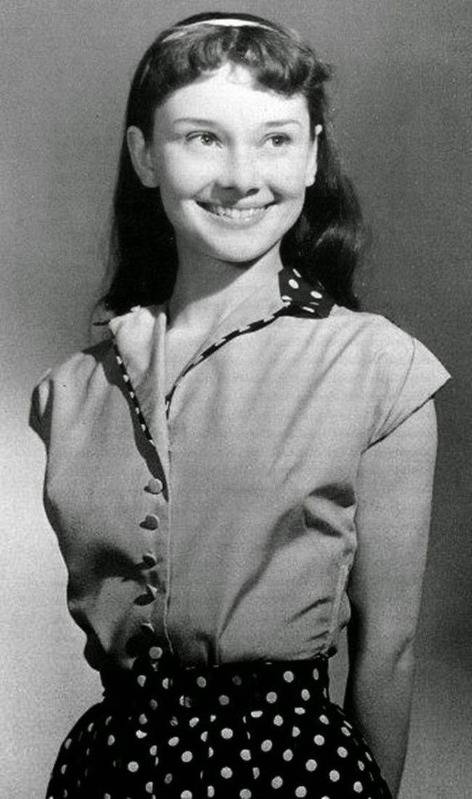 13-летняя Одри Хепберн, 1942 дети, известность, история, фото