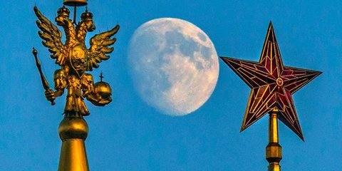 «Жизнерадостная» Луна взойдет над Москвой в ночь на среду