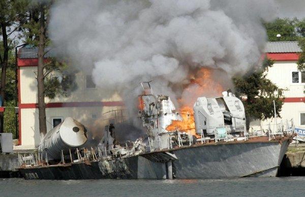 Миротворцам хана: Как МРК «Мираж» умудрился сломать планы военным спецам США и Грузии?