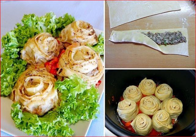 Подборка рецептов оформления красивых блюд из теста