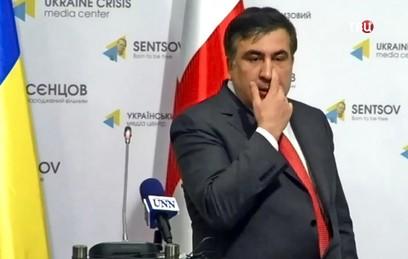 Западные СМИ обсуждают скандал между Саакашвили и Аваковым