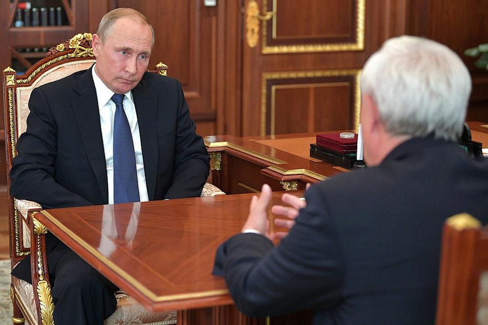 Путин проверил экономику Санкт-Петербурга