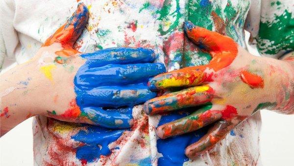 Как отстирать краску с одежд…