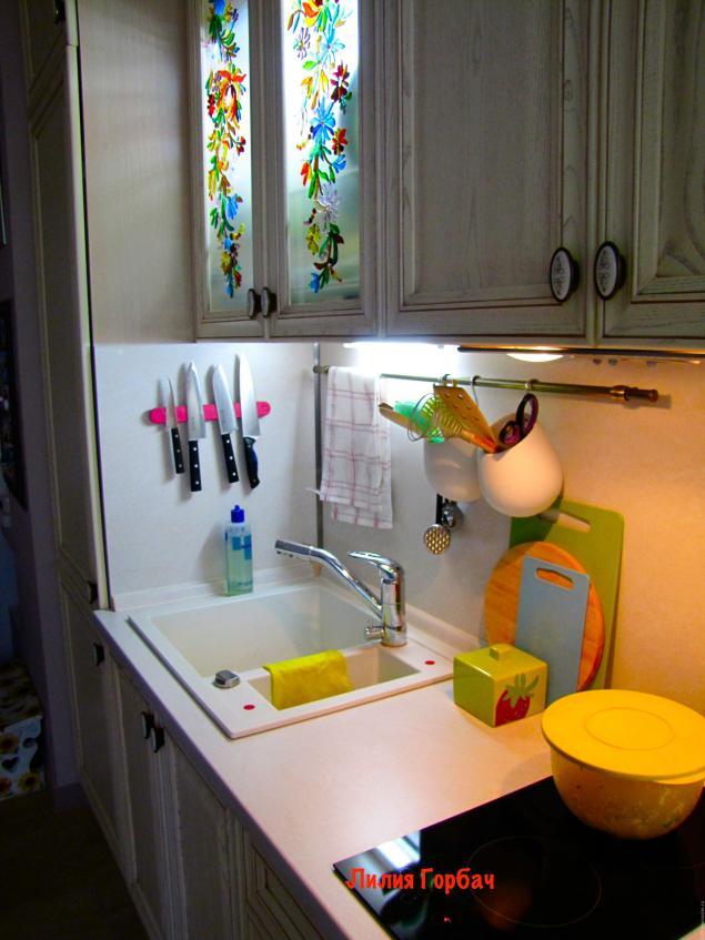 Декор кухонного шкафа своими руками