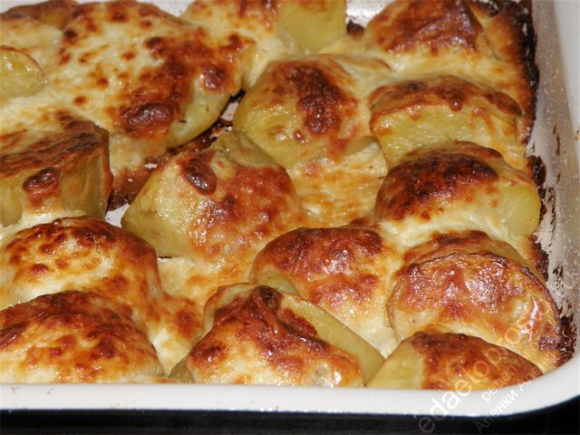 Как сделать картошку в духовке с корочкой