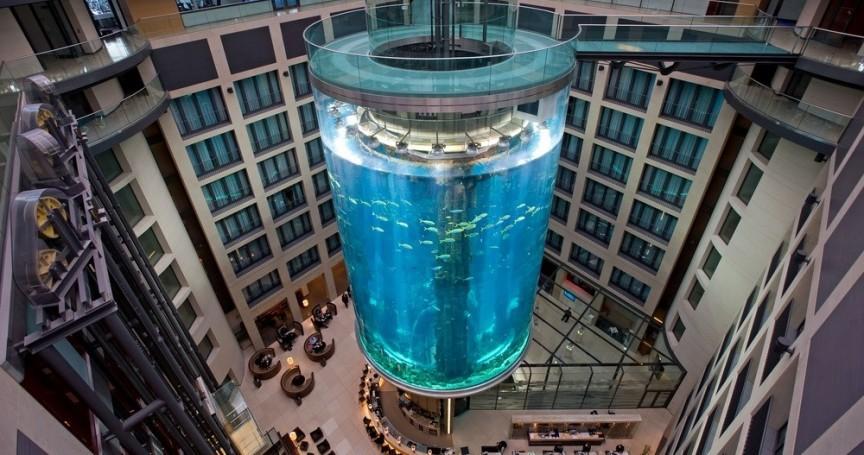 11 самых невероятных аквариумов со всего мира