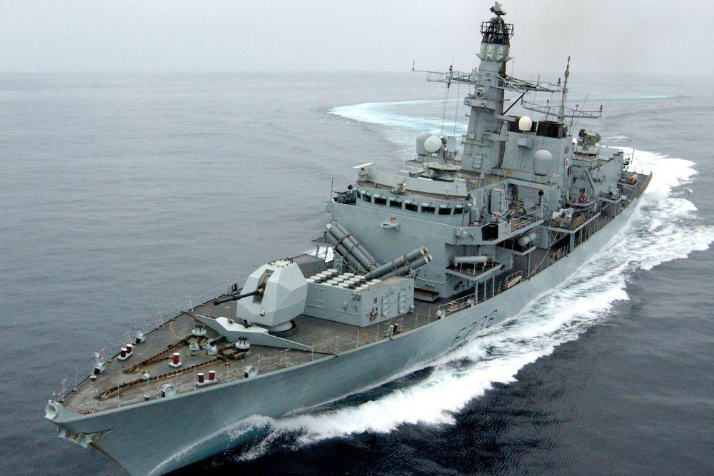 Британский фрегат проследил за кораблями Балтфлота в Северном море