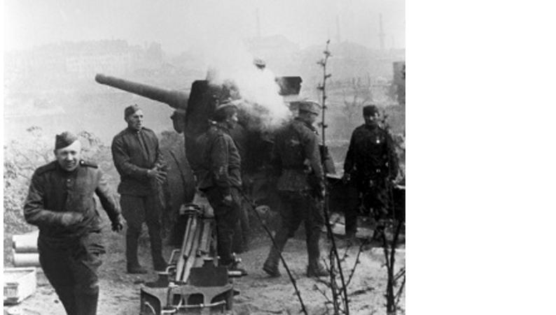 20 апреля 1945 г. Начался штурм Берлина