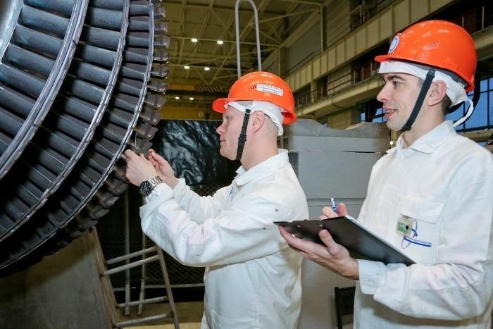 На Смоленской АЭС выполнен уникальный ремонт турбогенератора №1 первого энергоблока