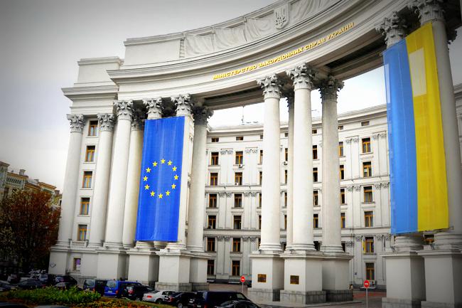 МИД Украины сообщил о готовности к введению визового режима с Россией