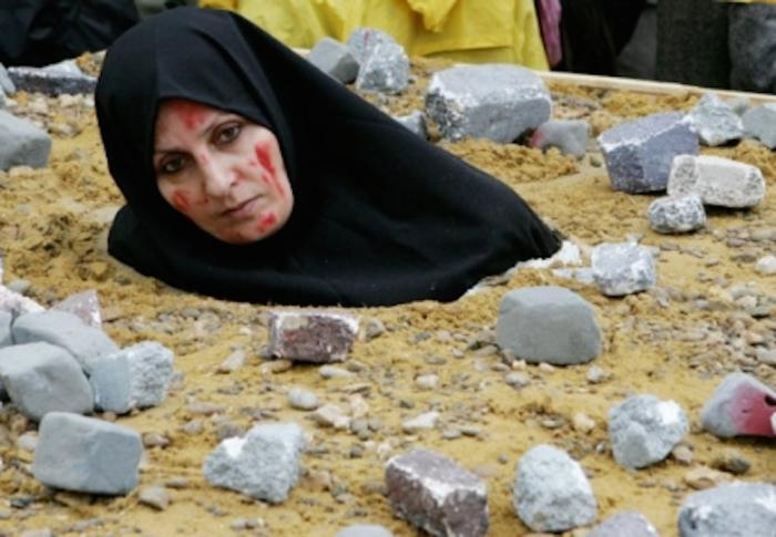 Stoning.