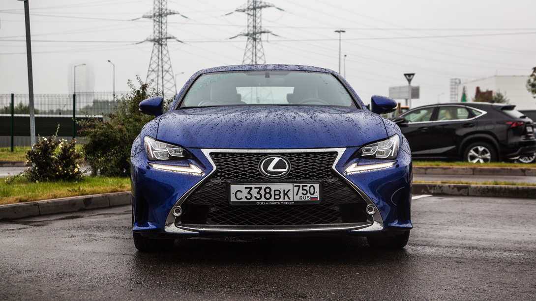 Тест-драйв Trendymen: Lexus RC