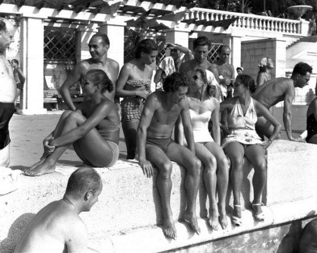 Жители Советского Союза 1950х годов