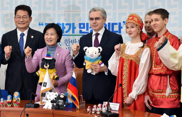 Разгром запрета МОК: в Корее…