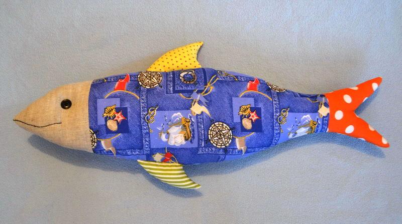 Подушки рыбы своими руками