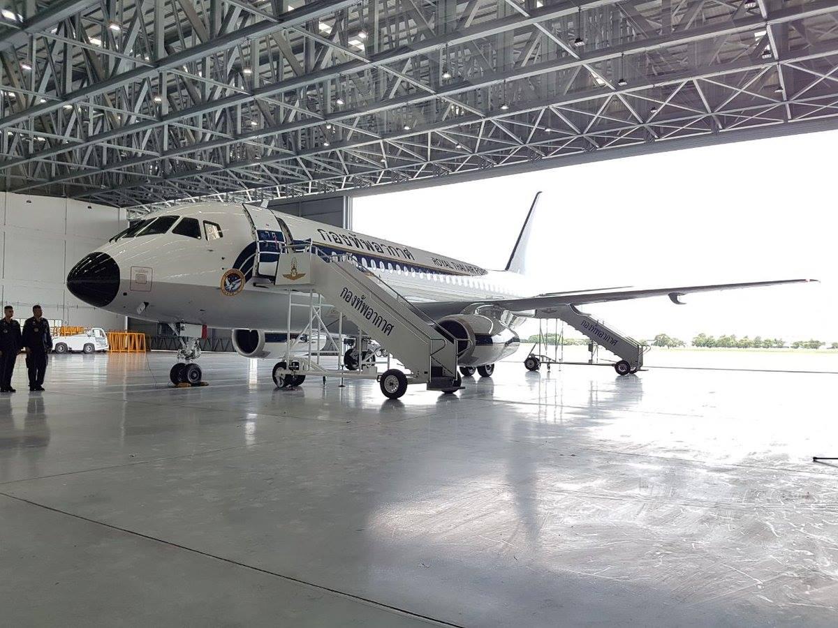 ВВС Таиланда получили третий самолет SSJ100