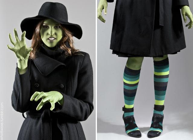 Костюм ведьмы на Хэллоуин своими руками