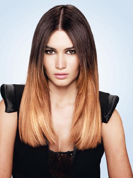 Омбре - модное окрашивание волос
