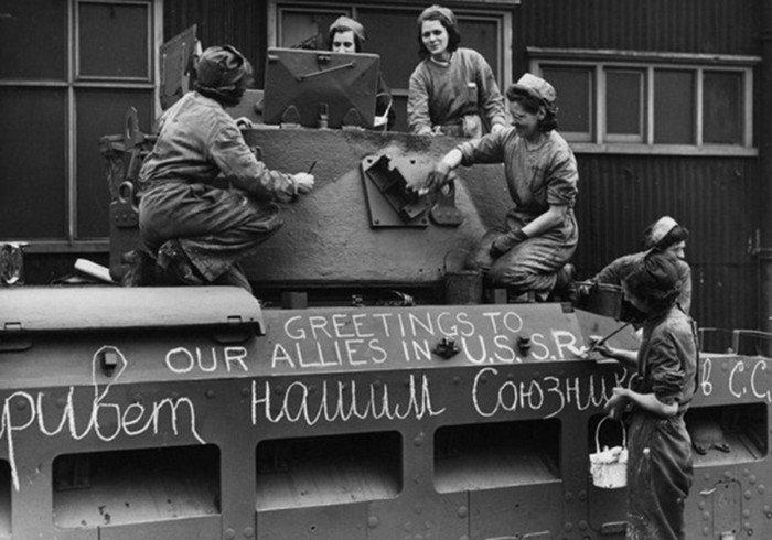 Как союзники во время Второй мировой войны помогали СССР