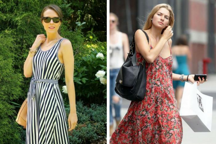5 модных фасонов летних платьев, которые лучше всего сочетаются с обувью на низком ходу