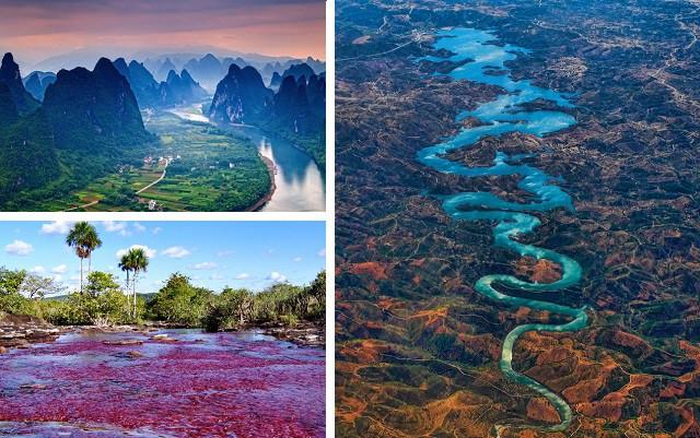 5 самых красивых рек в мире