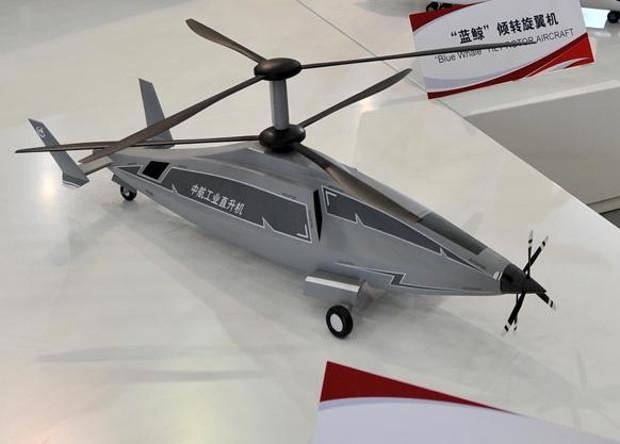 Китайцы занялись разработкой скоростных вертолетов
