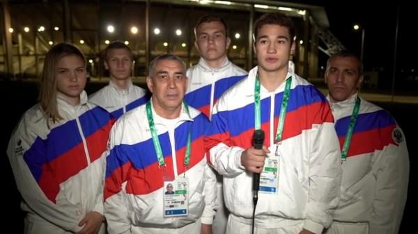 Юниорская сборная РФ по бокс…