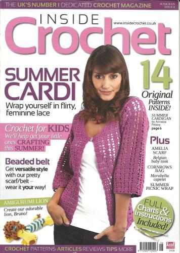 Inside Crochet № 8 2010 (вязание)