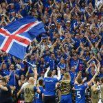 Футбольные фаны из Исландии …