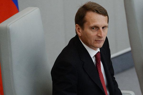 Нарышкин: Внешние рынки капитала стали ненадежными после санкций