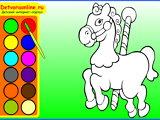Детские раскраски игры онлайн 3-4 года