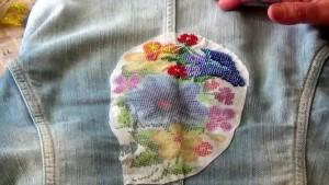 Вышивка бисером на водорастворимом флизелине
