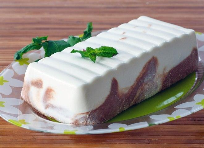 Творожная запеканка в духовке с шоколадным вкусом