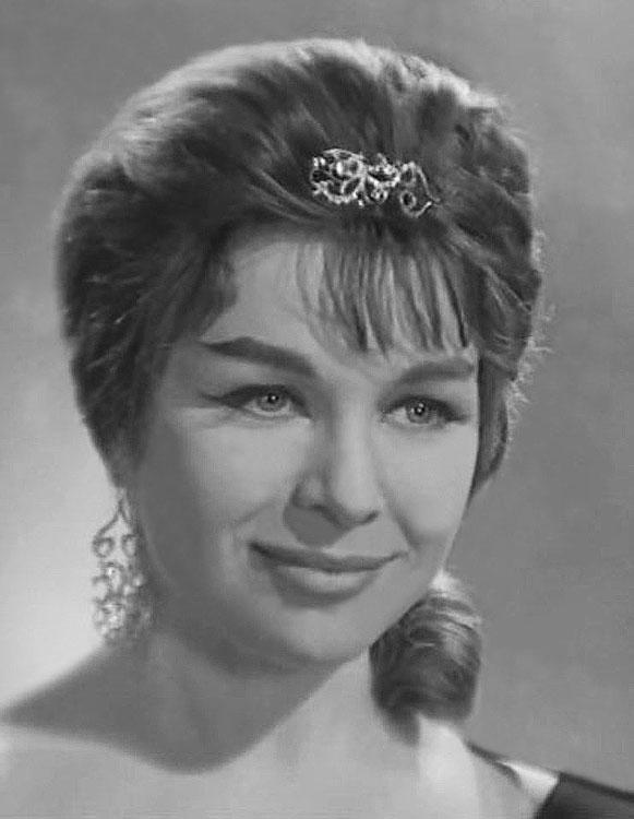 Советские актрисы: Нинель Мышкова