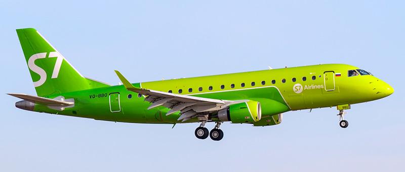 Схема салона Embraer ERJ-170…