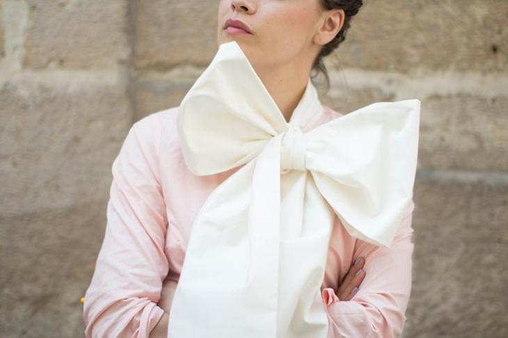 Переделка скучной блузки