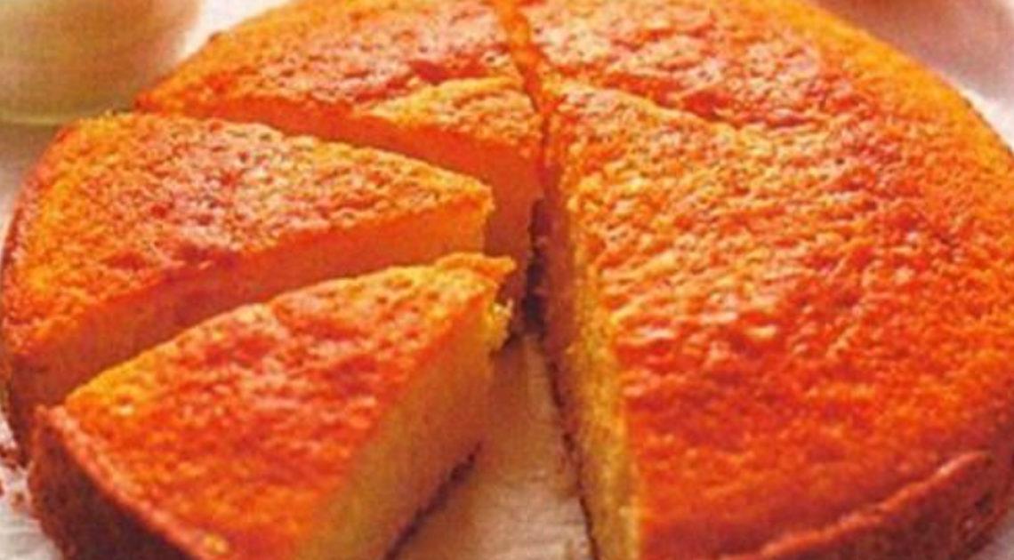 Шикарный цитрусовый пирог «неженка»