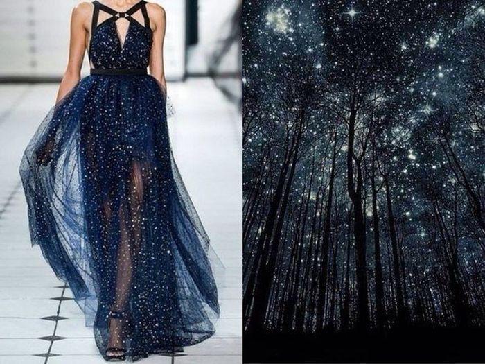Платья, на которые вдохновила сама природа платья, природа