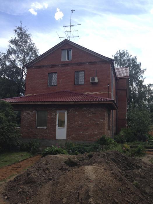 Новый вид старого дома п. Дружба, Московская область