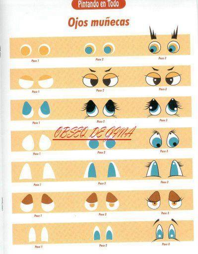 Как сделать глаза для животных