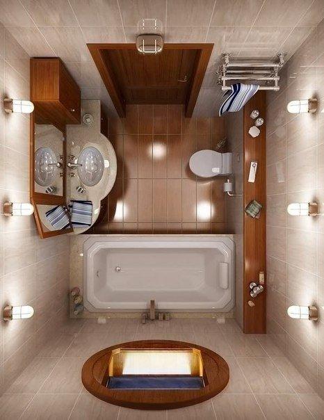 Дизайн ванной комнаты - необычный взгляд