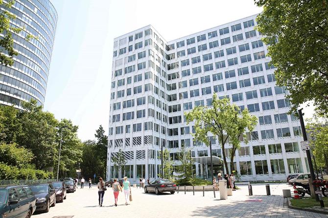 «Необычный» офис в Дюссельдорфе
