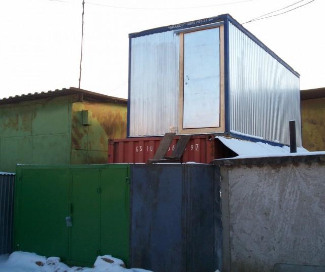 Мой дом-гараж