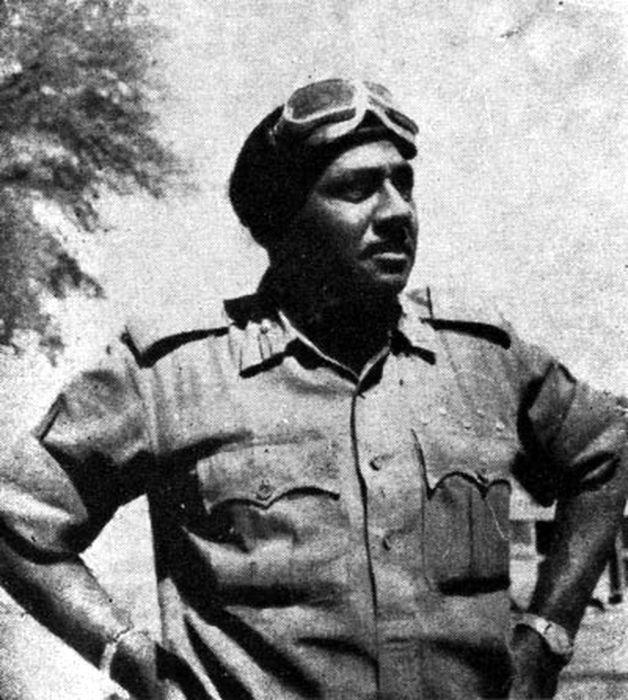 Бригадир Чаградж, отец индийской победы при Асал-Утаре, 1965 год - Индо-пакистанская война 1965 года: танковое сражение за Асал-Утар   Военно-исторический портал Warspot.ru