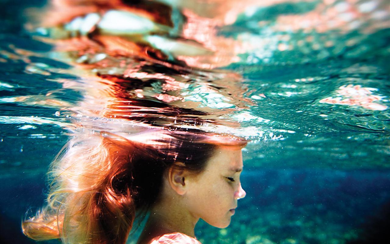 Фото под водой девушки 15 фотография