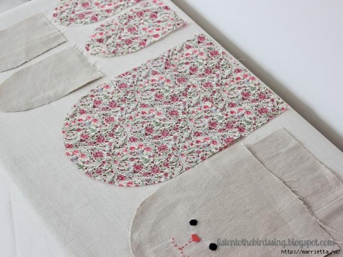 Как сшить мешочек из ткани