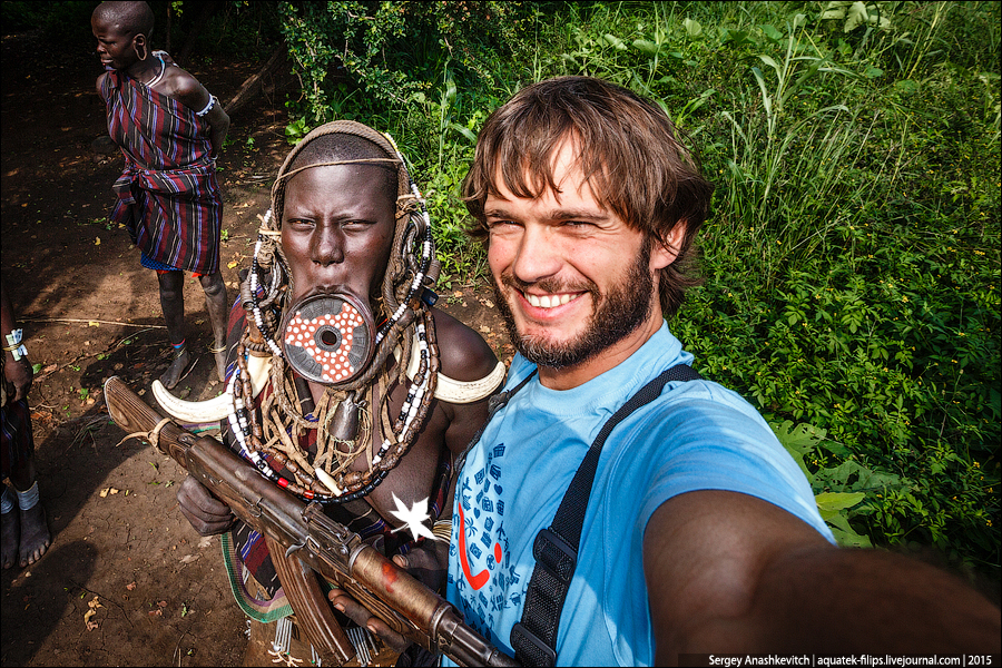 Как мы фотографировали в африканских племенах