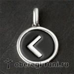 Кано серебро с эмалью