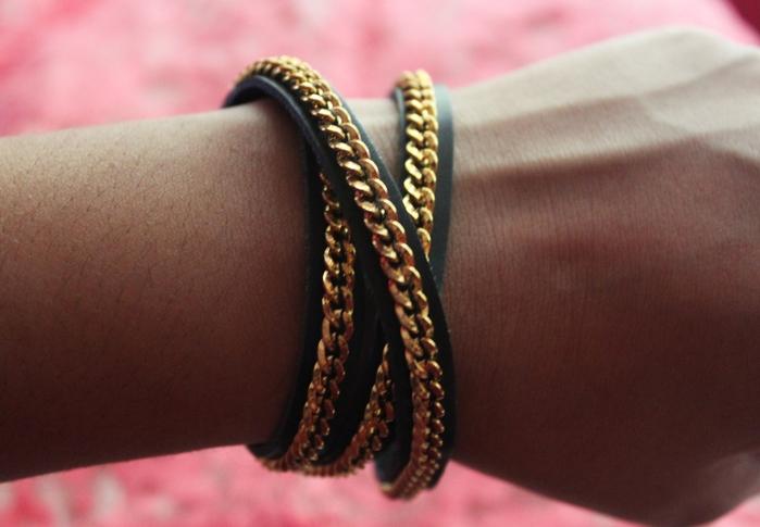 Кожаный браслет для женщин своими руками 153